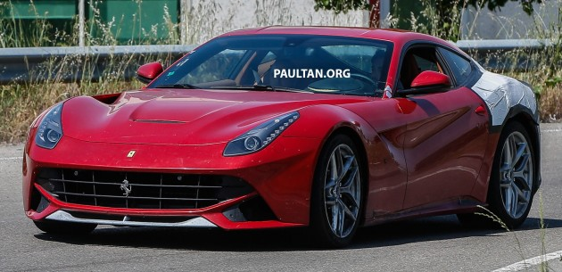 Spied Ferrari F12 M Goes Testing More Than 750 Hp