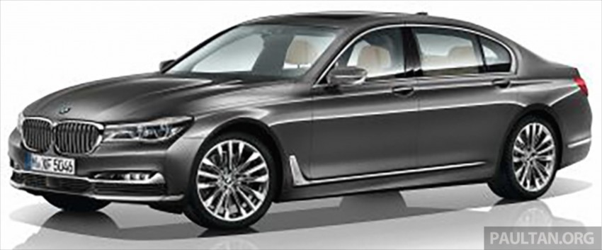 2016 G11 BMW 7 Series pictures and details leaked! Image #347387
