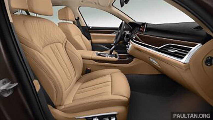 2016 G11 BMW 7 Series pictures and details leaked! Image #347406