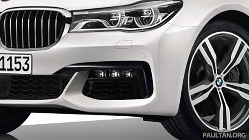 2016 G11 BMW 7 Series pictures and details leaked! Image #347417
