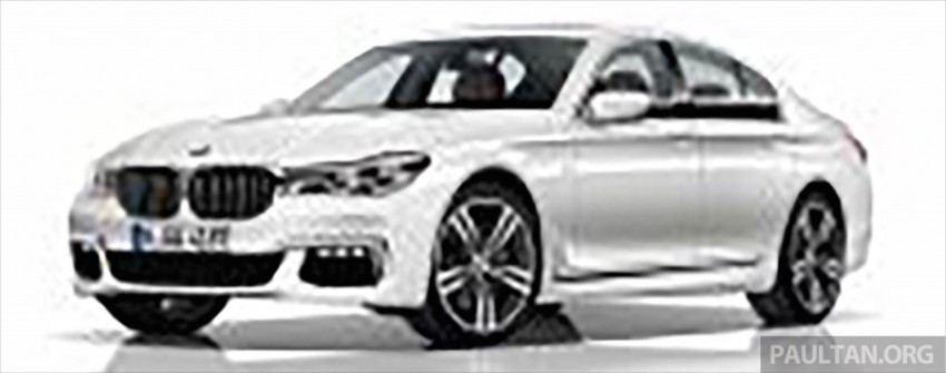 2016 G11 BMW 7 Series pictures and details leaked! Image #347423