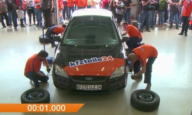 gwr fastest tyre change
