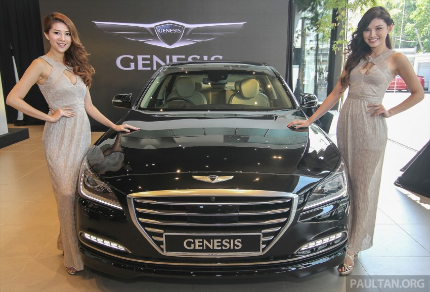 Hyundai Genesis 3.8 V6 launched in Malaysia: RM389k Image #347102