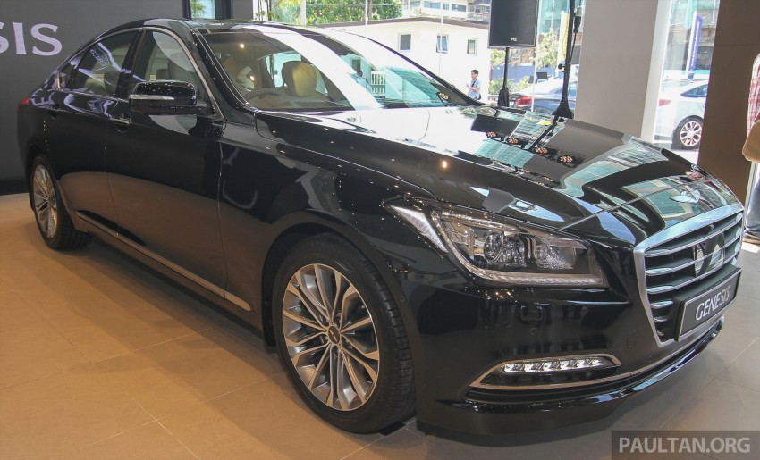 Hyundai Genesis 3.8 V6 launched in Malaysia: RM389k Image #347106
