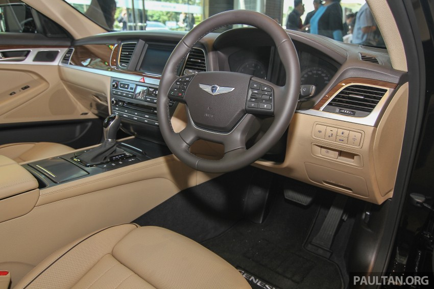 Hyundai Genesis 3.8 V6 launched in Malaysia: RM389k Image #347107