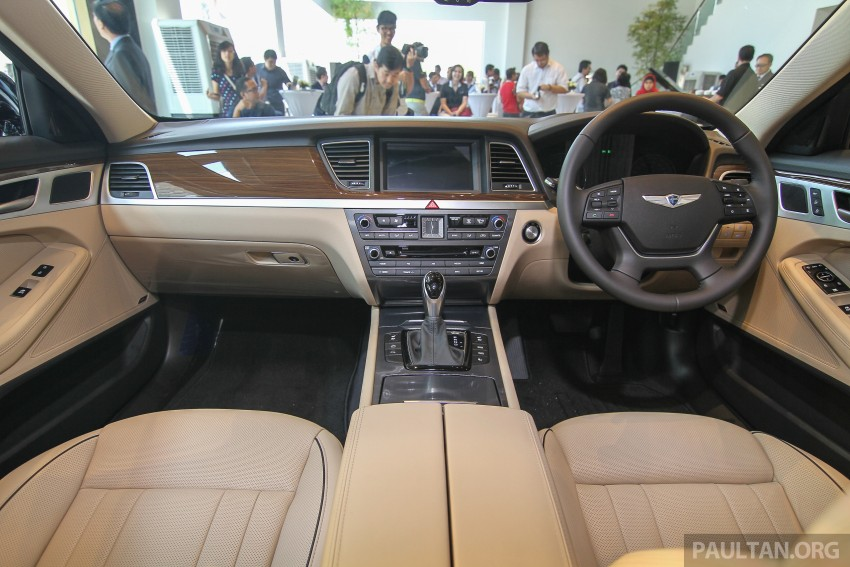 Hyundai Genesis 3.8 V6 launched in Malaysia: RM389k Image #347108