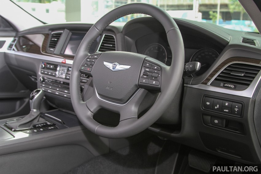 Hyundai Genesis 3.8 V6 launched in Malaysia: RM389k Image #346440