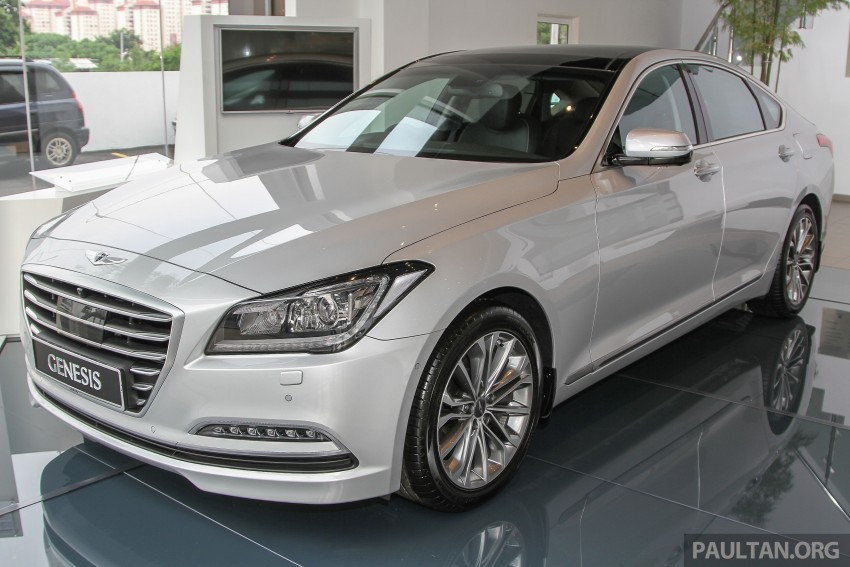 Hyundai Genesis 3.8 V6 launched in Malaysia: RM389k Image #346442