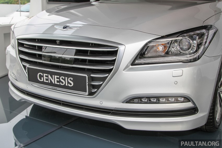Hyundai Genesis 3.8 V6 launched in Malaysia: RM389k Image #346443