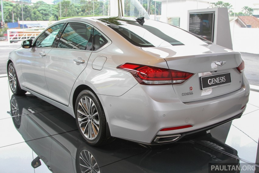 Hyundai Genesis 3.8 V6 launched in Malaysia: RM389k Image #346454