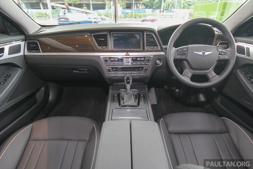 Hyundai Genesis 3.8 V6 launched in Malaysia: RM389k Image #346468