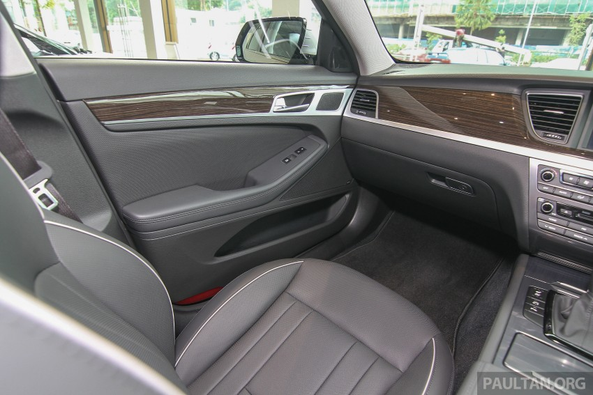 Hyundai Genesis 3.8 V6 launched in Malaysia: RM389k Image #346469