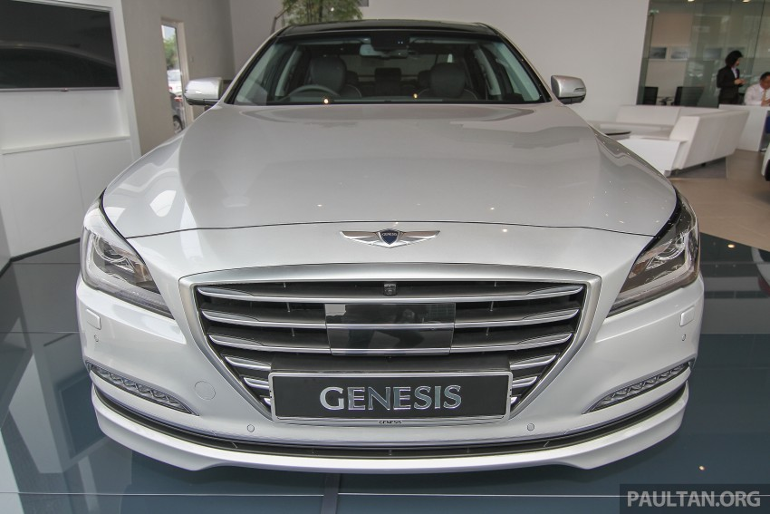 Hyundai Genesis 3.8 V6 launched in Malaysia: RM389k Image #346482