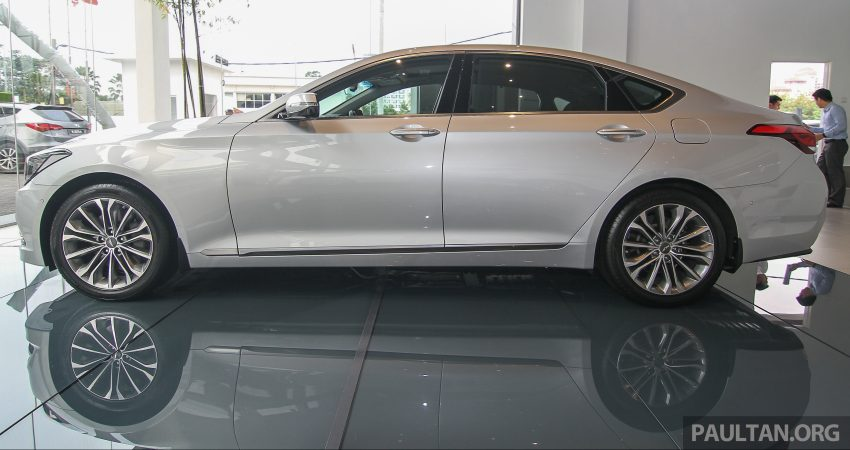 Hyundai Genesis 3.8 V6 launched in Malaysia: RM389k Image #346483