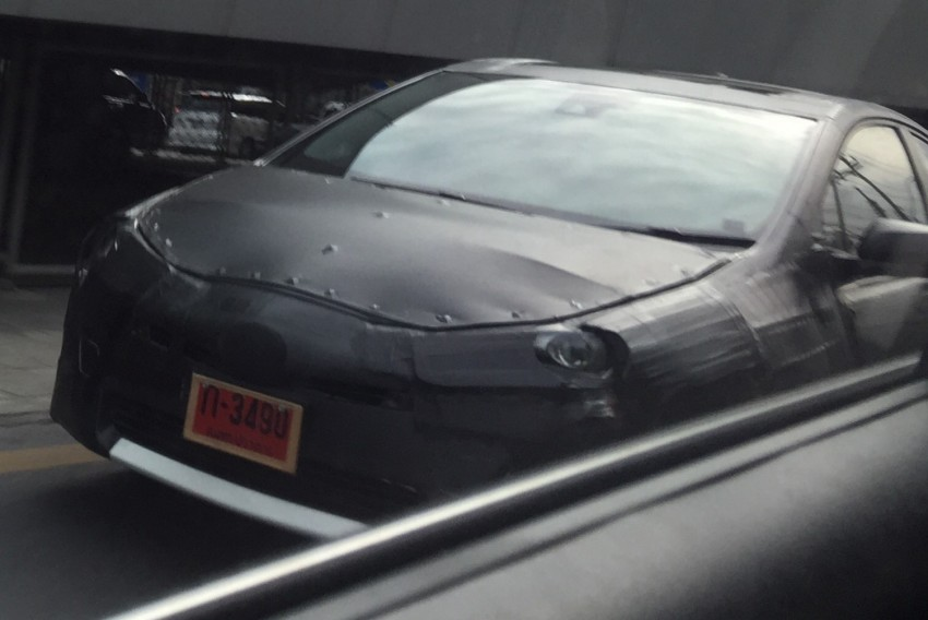 SPIED: 2016 Toyota Prius caught testing in Thailand! Image #344985