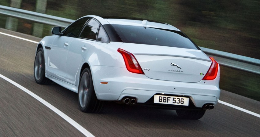2016 Jaguar XJ facelift debuts with new looks and tech Image #350612