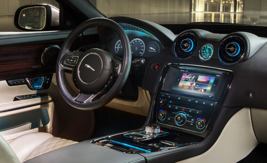 2016 Jaguar XJ facelift debuts with new looks and tech Image #350613