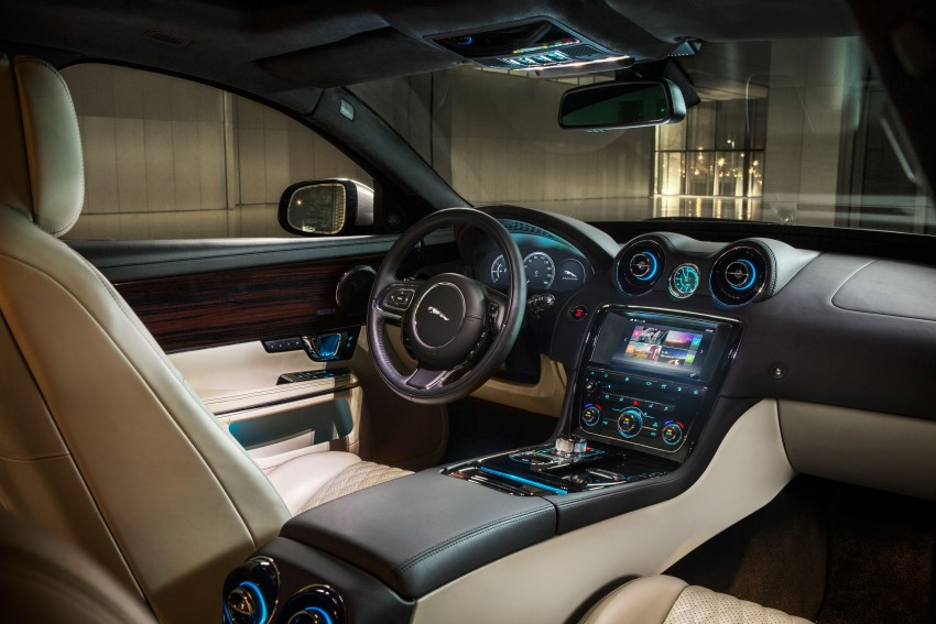 2016 Jaguar XJ facelift debuts with new looks and tech Image #350614