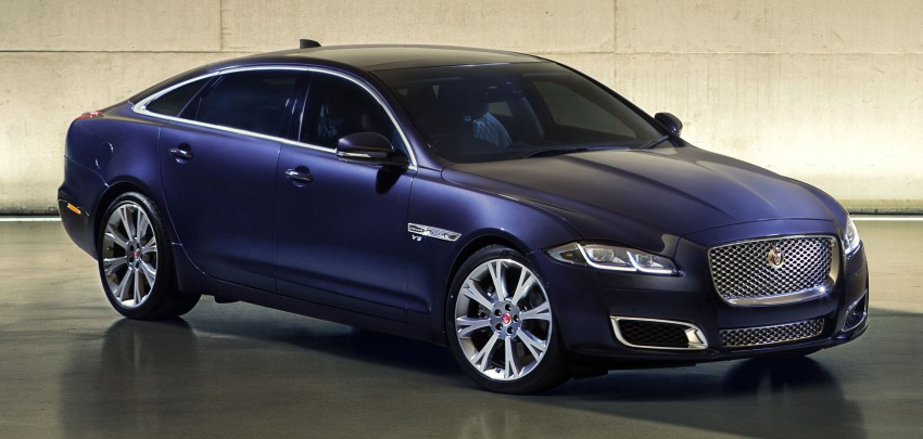 2016 Jaguar XJ facelift debuts with new looks and tech Image #350616