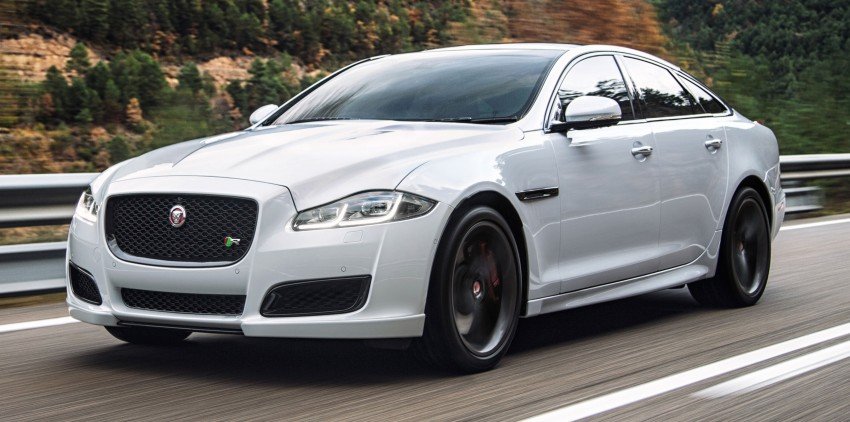 2016 Jaguar XJ facelift debuts with new looks and tech Image #350617