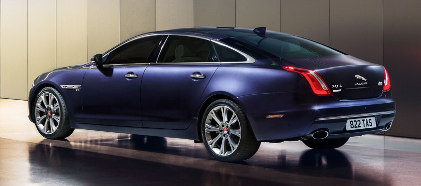 2016 Jaguar XJ facelift debuts with new looks and tech Image #350618