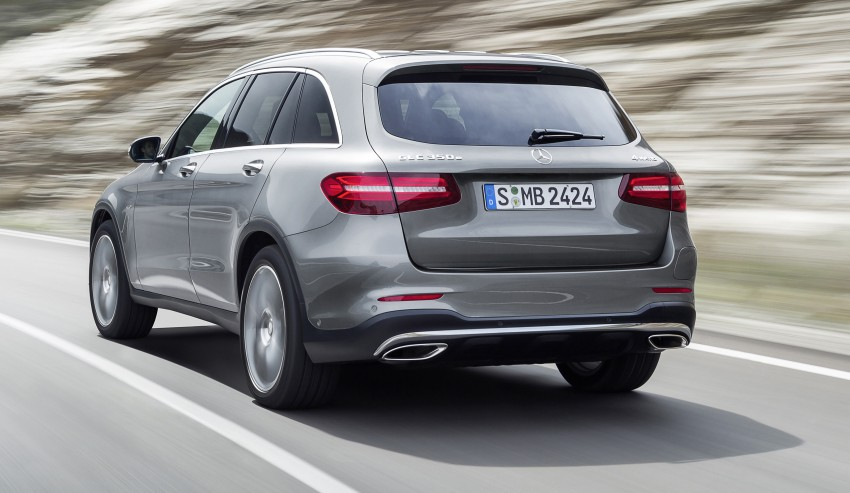 Mercedes-Benz GLC unveiled – the SUV sweet spot? Image #351696