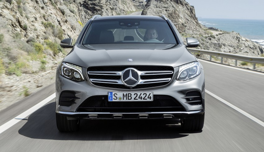 Mercedes-Benz GLC unveiled – the SUV sweet spot? Image #351702