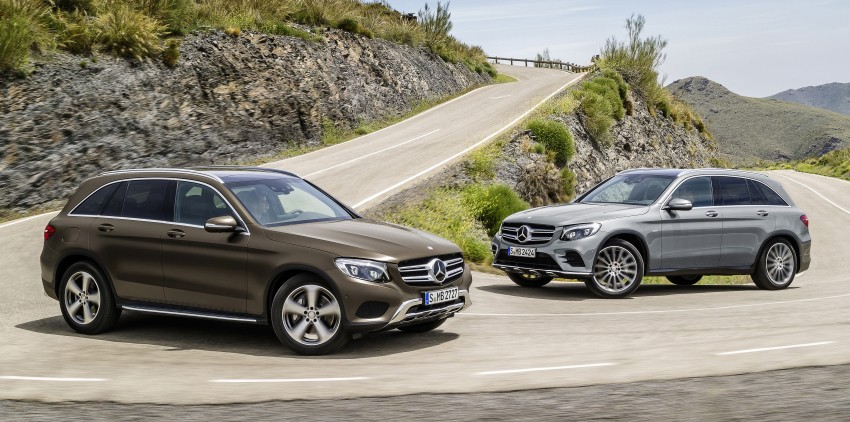 Mercedes-Benz GLC unveiled – the SUV sweet spot? Image #351703