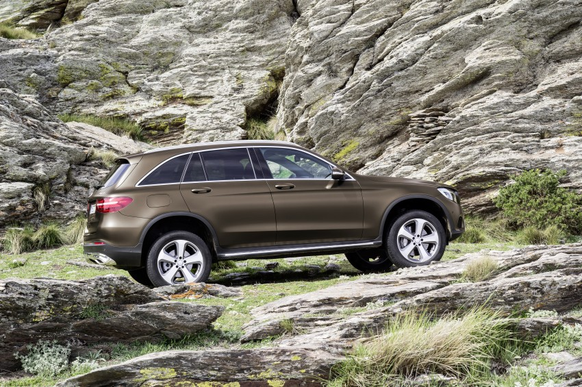Mercedes-Benz GLC unveiled – the SUV sweet spot? Image #351712