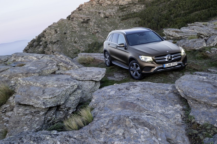 Mercedes-Benz GLC unveiled – the SUV sweet spot? Image #351714