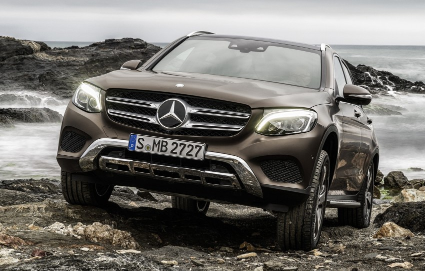 Mercedes-Benz GLC unveiled – the SUV sweet spot? Image #351716
