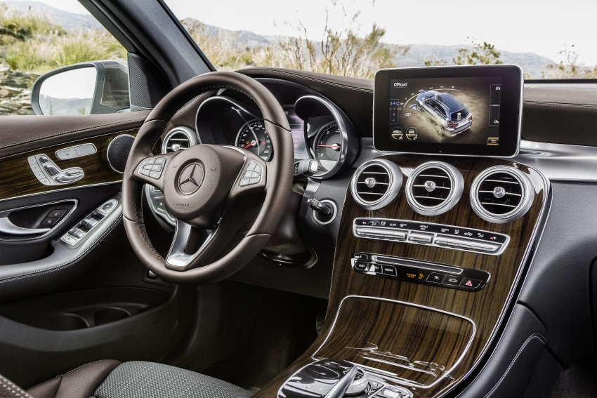 Mercedes-Benz GLC unveiled – the SUV sweet spot? Image #351720