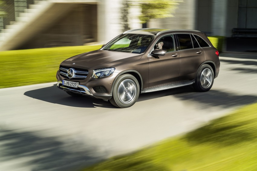 Mercedes-Benz GLC unveiled – the SUV sweet spot? Image #351722