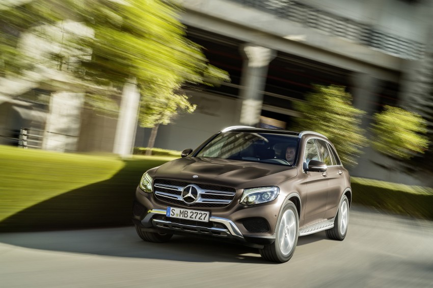 Mercedes-Benz GLC unveiled – the SUV sweet spot? Image #351723