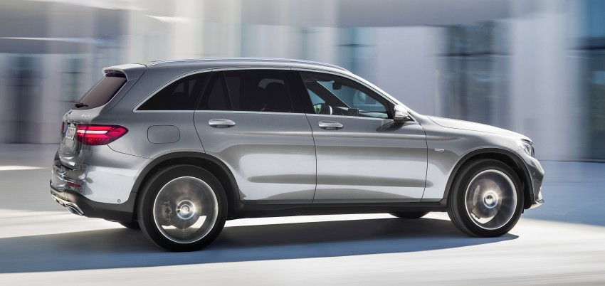 Mercedes-Benz GLC unveiled – the SUV sweet spot? Image #351725