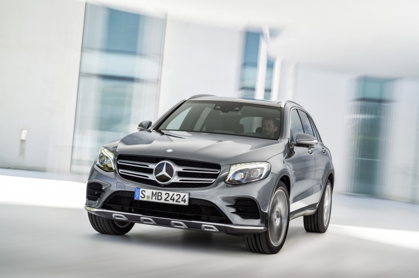 Mercedes-Benz GLC unveiled – the SUV sweet spot? Image #351726