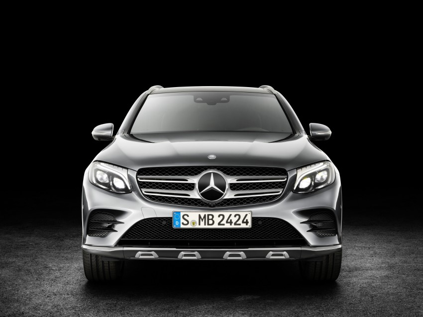 Mercedes-Benz GLC unveiled – the SUV sweet spot? Image #351735