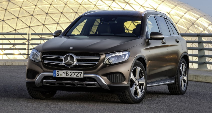 Mercedes-Benz GLC unveiled – the SUV sweet spot? Image #351740