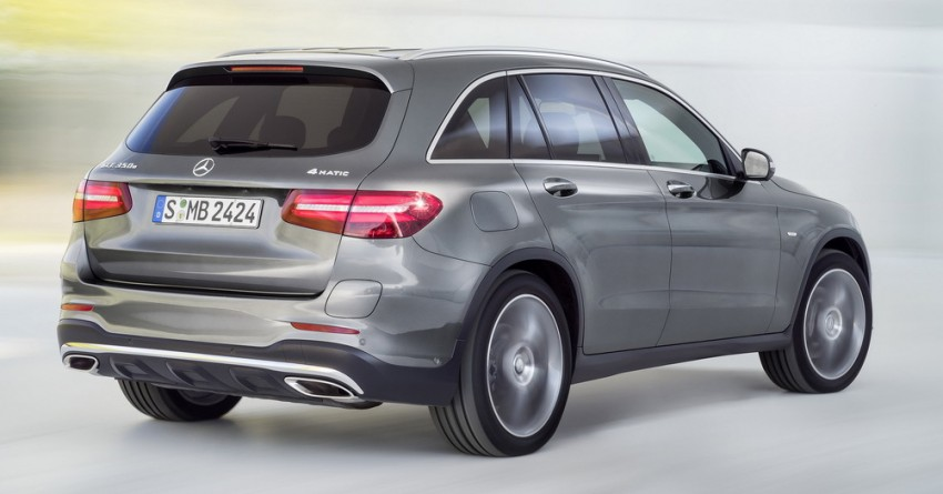 Mercedes-Benz GLC unveiled – the SUV sweet spot? Image #351688