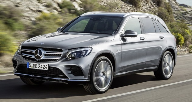 Mercedes benz glc unveiled the suv sweet spot for New mercedes benz small suv