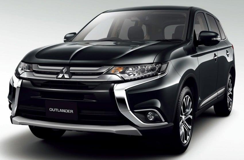 Mitsubishi Outlander facelift range revealed for Japan Image #351913