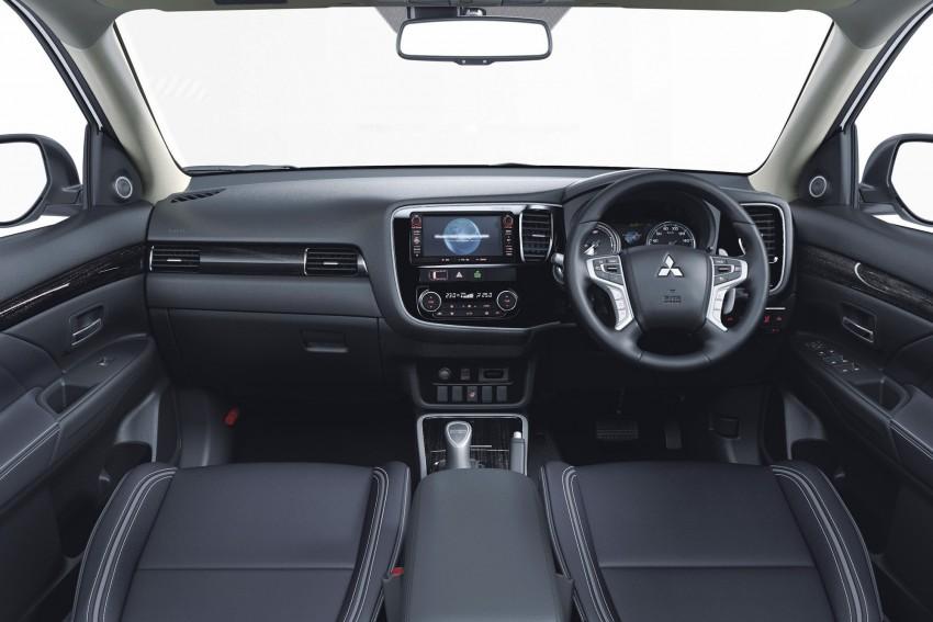 Mitsubishi Outlander facelift range revealed for Japan Image #351914