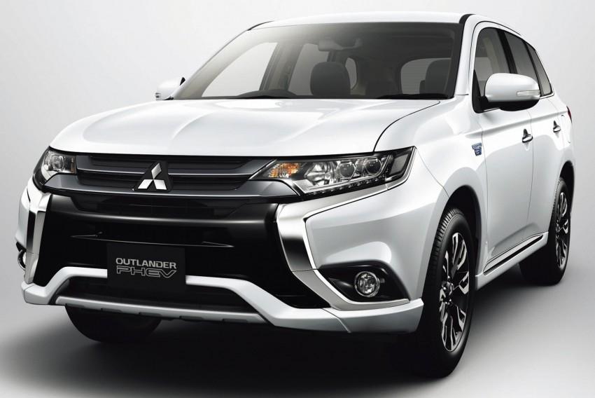 Mitsubishi Outlander facelift range revealed for Japan Image #351915