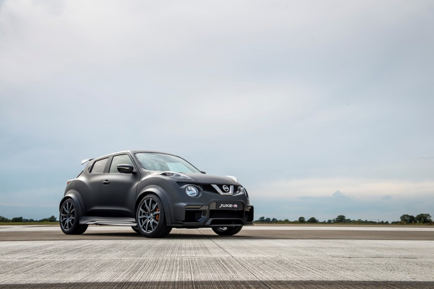 Nissan Juke-R 2.0 concept gets rebooted with 600 hp! Image #354341
