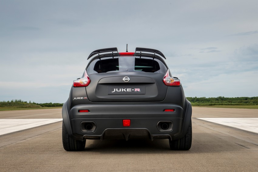 Nissan Juke-R 2.0 concept gets rebooted with 600 hp! Image #354344