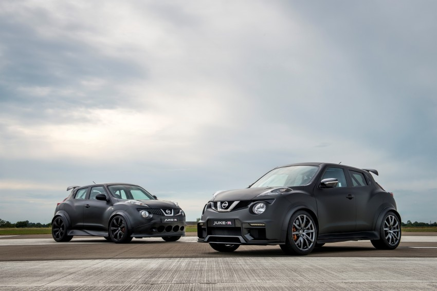 Nissan Juke-R 2.0 concept gets rebooted with 600 hp! Image #354345