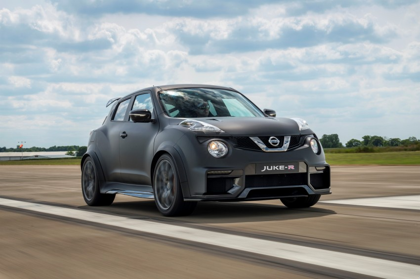 Nissan Juke-R 2.0 concept gets rebooted with 600 hp! Image #354346