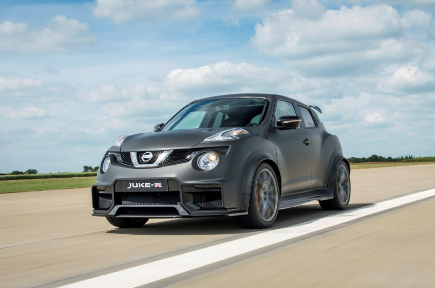 Nissan Juke-R 2.0 concept gets rebooted with 600 hp! Image #354347