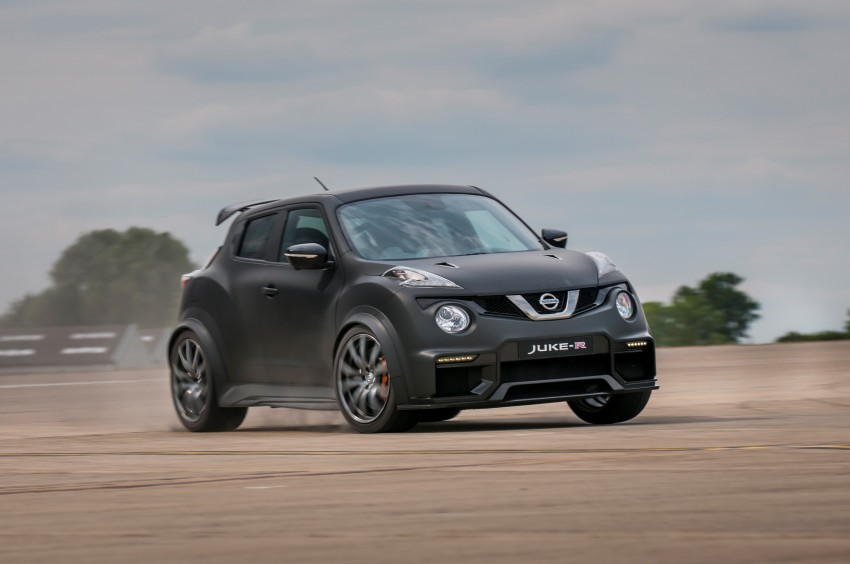Nissan Juke-R 2.0 concept gets rebooted with 600 hp! Image #354350