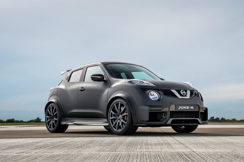 Nissan Juke-R 2.0 concept gets rebooted with 600 hp! Image #354352